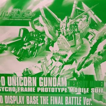 Hguc Rx-0 Unicorn Gundam...