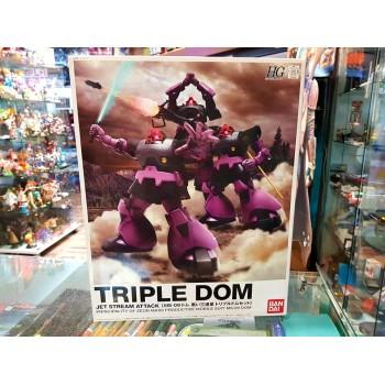 Triple Dom Set GUNPLA HGUC...